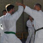 Karatelehrgang mit Alfred Heubeck und Helmut Körber