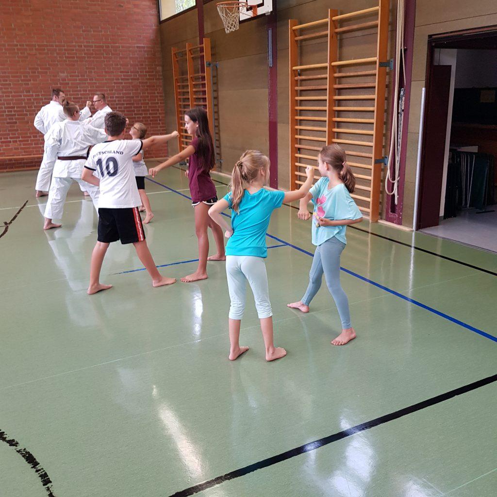 Karate Ferienkurs