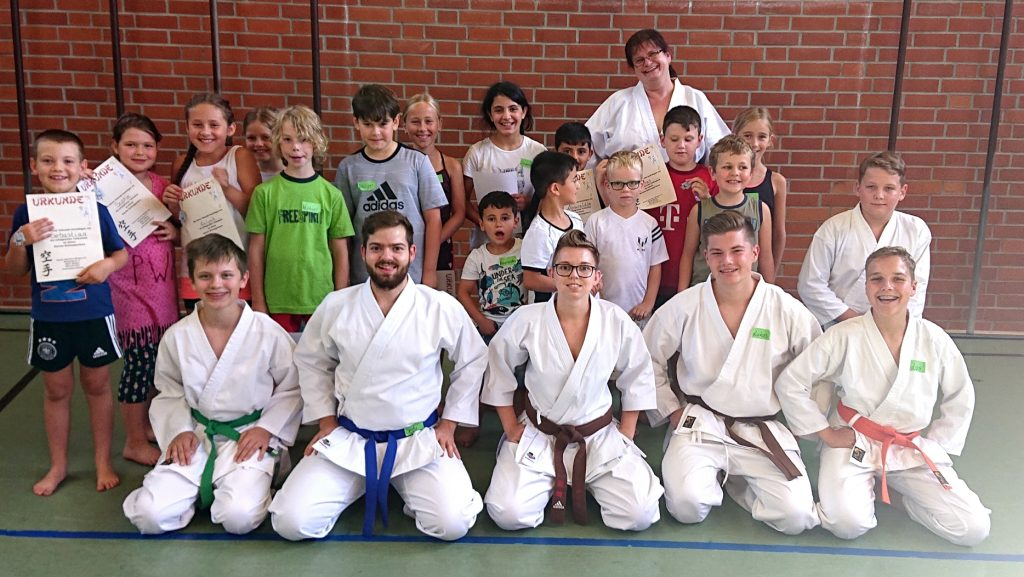 Karate Ferienprogramm 2019